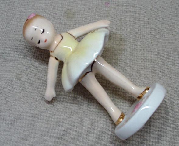 Vintage Josefs Originals Ballerina with Tutu Dancing Figurine