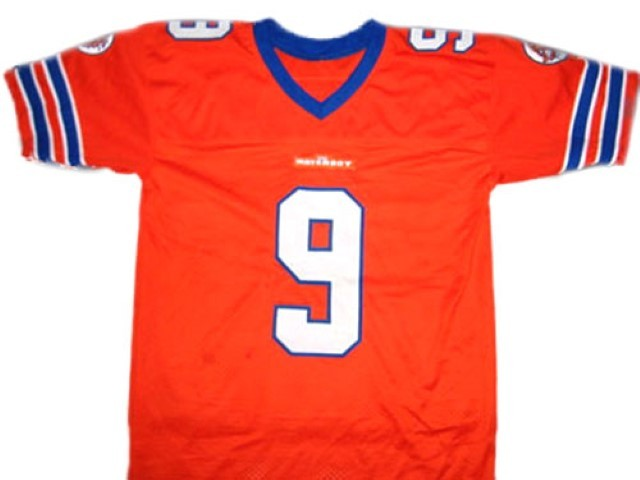 Bobby Boucher #9 The Waterboy Movie Football Jersey Orange Any Size
