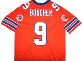 Bobby Boucher #9 The Waterboy Movie Football Jersey Orange Any Size image 2