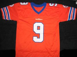 Bobby Boucher #9 The Waterboy Movie Football Jersey Orange Any Size image 5