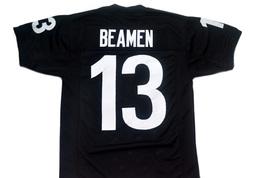 Willie Beamen #13 Any Given Sunday Movie Football Jersey Black Any Size image 1