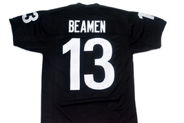 Willie Beamen #13 Any Given Sunday Movie Football Jersey Black Any Size image 4