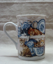 Vintage Masterpiece Collection Chrissie Snelling Cats Coffee Mug // Cats... - $9.00