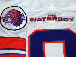 Bobby Boucher #9 The Waterboy Movie Football Jersey White Any Size image 4