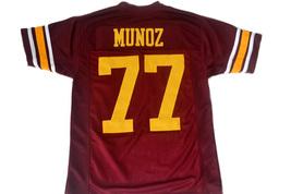 Anthony Munoz #77 USC Trojans New Men Football Jersey Maroon Any Size image 5