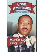 Martin Luther King Jr. (Great Americans for Children) [VHS Tape] [2003] - $7.00
