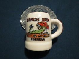 FLORIDA BEACH BUM MINI MUG SHOT GLASS NEAT - $6.99