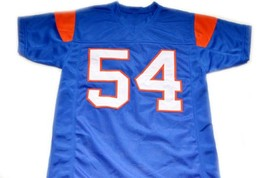 Kevin Thad Castle #54 Blue Mountain State Movie Football Jersey Blue Any Size image 2