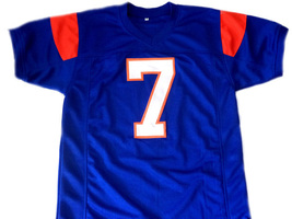 Alex Moran #7 Blue Mountain State Men Football Jersey Blue Any Size image 4
