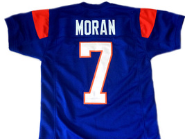 Alex Moran #7 Blue Mountain State Men Football Jersey Blue Any Size image 5