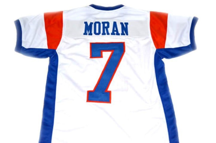 Alex Moran #7 Blue Mountain State Football Jersey White Any Size