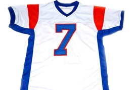 Alex Moran #7 Blue Mountain State Football Jersey White Any Size image 4