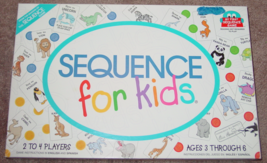 Sequence For Kids Game 2001 Jax Complete Excellent - $20.00