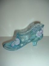 Fenton Glass Hand Painted Artist Signed 95th Anniversary Shoe - $24.99