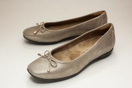 Clarks Candra 6.5 Bronze Ballet Flats Women's Slip On - $48.00