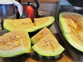 SHIPPED FROM US 100 Tendersweet Orange Watermelon Fruit Melon Seed, LC03 - $15.00
