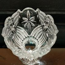 1 GORHAM ANGELS OF PEACE Crystal Frosted Votive Candle Holder image 3