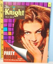 Sir Knight Mens The New Monthly Mens Magazine 1961 Vol. 2 No. 10 - $25.69