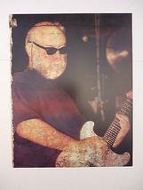 John Fahey Guitarist 12x9 Coffee Table Book Photo Page - $4.99