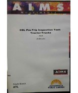 CDL Pre-Trip Inspection Test: Tractor-Trucks - $13.81