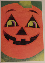 "Greeting Halloween Card ""Trick or Treat Hope it's sweet! Happy Halloween!"" - $1.50"