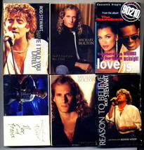 6 Single Love Song Cassette Collection - $10.80