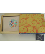 The Helix Collection Blank Notecards with Envelopes in Wooden Box Qty 20 - $12.99