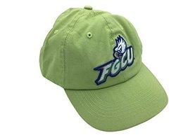 FGCU Florida Gulf Coast University Eagles Green Hat Cap with Leather Strap - $19.80