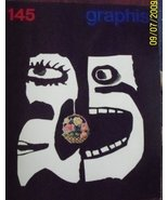 Graphis No. 145, Volume 25 [Single Issue Magazine] [Jan 01, 1969] Walter... - $32.40