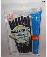 10 Count Paper Mate Stick Medium Tip Ballpoint Pens, Black Ink Pen 2011 - $5.55