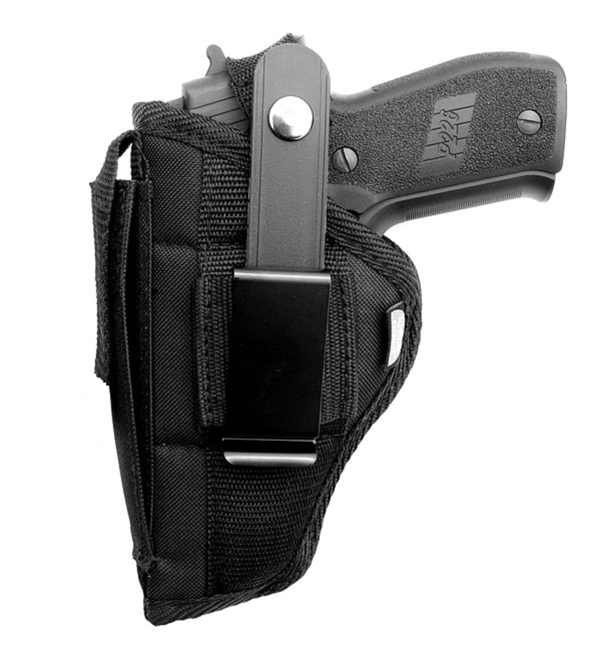 D&T Gun Holster Hip Belt for S&W SD9VE & SD40VE with Built-in Magazine Pouch for sale  USA