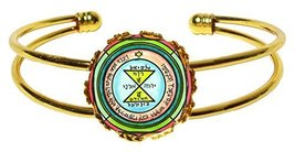 Solomons 3rd Venus Seal for Love, Respect & Admiration Gold Cuff Bracelet - $14.95