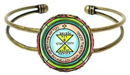 Solomons 3rd Venus Seal for Love, Respect & Admiration Gold Bronze Cuff ... - $14.95