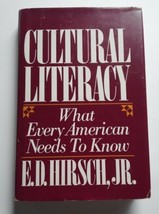 Cultural Literacy: What Every American Needs to Know...Author: E. D. Hir... - $9.00