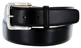 Valley View Women's Designer Leather Dress Belt (Smooth Black, 44) - $29.69