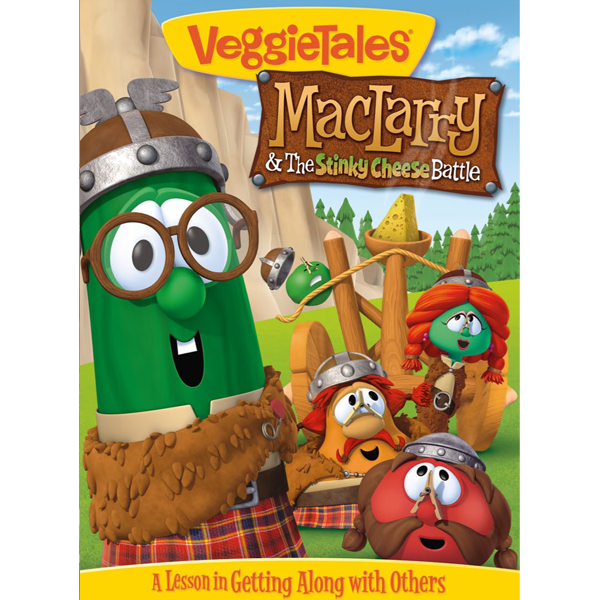 Maclarry   the stinky cheese battle   dvd by veggie tales