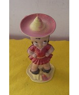 Mexican Senoprita Hat Dance Doll Wind-Up    One Of A Kind Vintage - $100.00