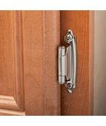 25 Pairs (50pcs) Self Closing Variable Overlay Flush Cabinet Hinge Satin... - $11.98