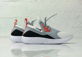 Nike Lunarcharge Bn Infrared Men Size 9.0 New Wolf Grey Cushioned Sock Like Fit - $128.69