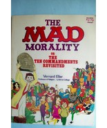 """""""The Mad Morality"""" by Vernard Eller  1st Printing  1970  Oversize  Softc... - $23.28"""