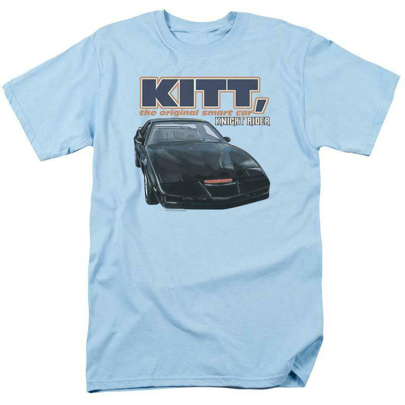 Knight Rider KITT the original smart car retro 80s TV series graphic tee NBC555