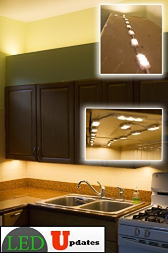 20x Kitchen under cabinet Warm white LED Light with UL Listed 12v 2A AC adapter