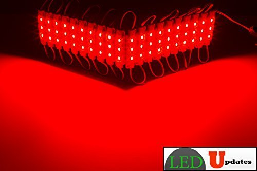 Primary image for 20ft Storefront Windows Red LED Light with UL Listed 12v 3A AC adapter