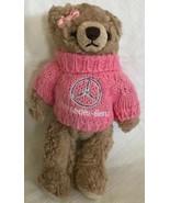 "Herrington Bears MERCEDES-BENZ 2007 Plush 7"" Jointed Teddy Bear Pink Swe... - $19.79"