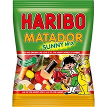 HARIBO Matador SUNNY Mix Licorice Gummi Mix from Denmark-400g-Shipping f... - $11.50
