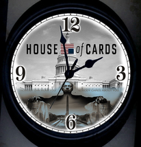 House Of Cards Wall Clock - $24.95