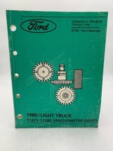 Ford Light Truck Speedometer Gears Manual Book Pickup 1980 On Up 20- - $12.30