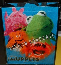 Disney The Muppets Live In Concert World Tour 2014 Tote Bag Never Used! - $5.99