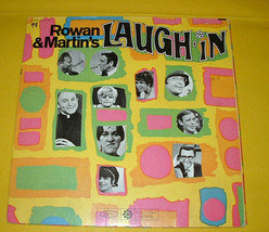 ROWAN & MARTIN'S LAUGH IN LP VINYL SEALED EPIC DIE CUT W/WINDOWS TO IN S... - $8.99