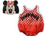 Baby Girls Boys Onesie Infant Sleeveless Summer Cotton Cartoon Minnie Spiderman